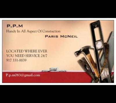 Paris McNeil - Paris McNeil - General Contractor user in New York City on Romio.com